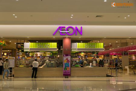 Mua sam am dam o Aeon Mall Long Bien dau nam moi 2016 - Anh 3