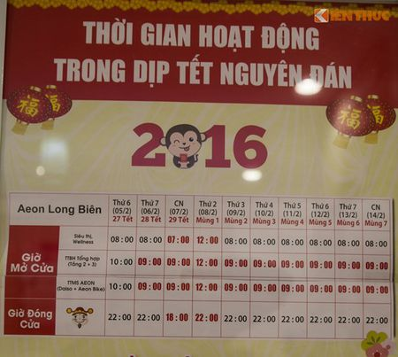 Mua sam am dam o Aeon Mall Long Bien dau nam moi 2016 - Anh 7