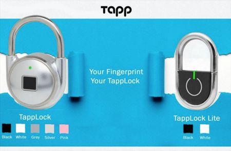 TappLock: O khoa mo bang cam bien van tay - Anh 2