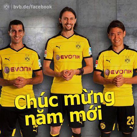 Man Utd, Dortmund chuc Tet fans Viet - Anh 2
