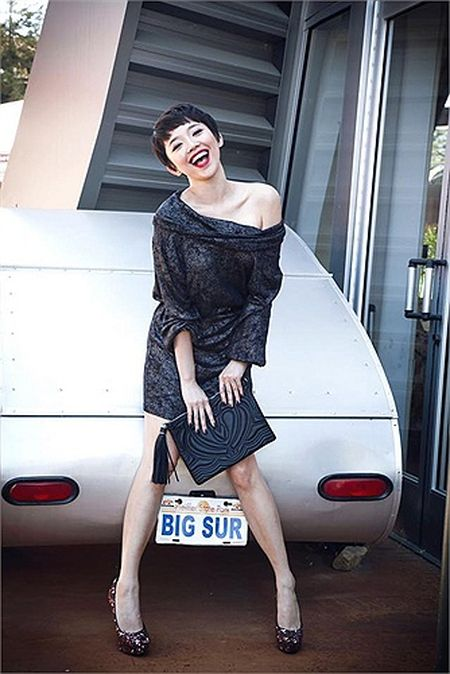 My nu Toc Tien sexy khuynh dao showbiz Viet - Anh 5