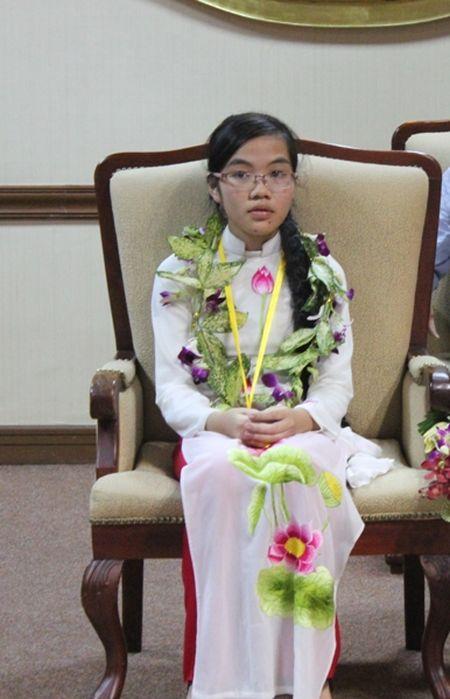 'Co gai vang' Olympic Vat ly tam su chuyen don Tet - Anh 1