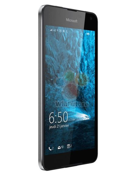 Them hinh anh chi tiet dien thoai Lumia 650 sap ra mat - Anh 3