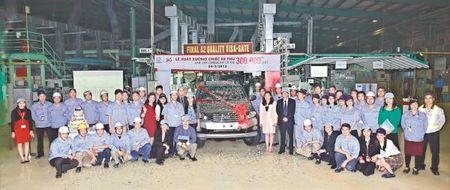 Toyota Viet Nam: 20 nam voi vi tri dan dau - Anh 1