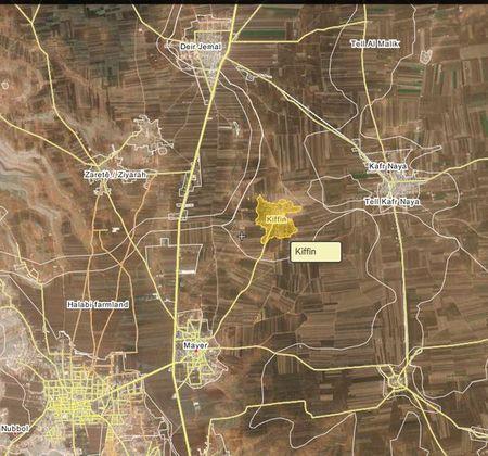 Lu doan 154 va Hezbollah gianh duoc lang Kiffeen, Bac Aleppo - Anh 1
