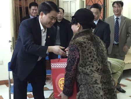 Chu tich UBND TP.Ha Noi Nguyen Duc Chung tham, chuc tet hoa si Nguyen Tu Nghiem - Anh 1