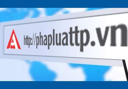 Bao Phap Luat TP.HCM thong bao thay doi ten mien (domain) truy cap - Anh 1