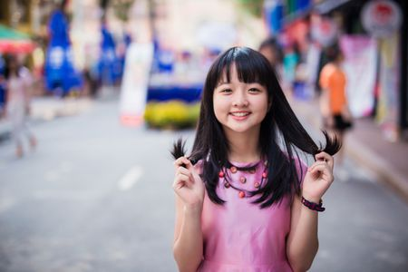 Lam Thanh My mac vay hoa xuong pho xin chu ong do - Anh 5