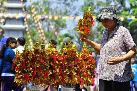 Nguoi Sai Gon di chua, phong sinh cau xuan an lanh - Anh 9