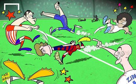 Biem hoa 24h: Tiet lo ly do Van Gaal va Guus Hiddink cam hoa nhau - Anh 6