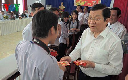 Chu tich nuoc tham Khu di tich Trung uong Cuc mien Nam - Anh 4