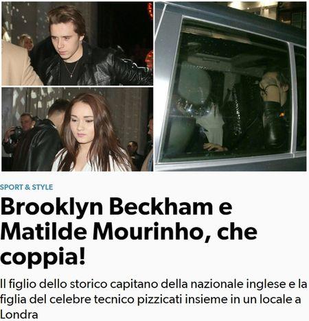 "Cau ca nha Becks – Vic co thuc su cap ke voi ""gai ruou"" Mourinho? - Anh 1"