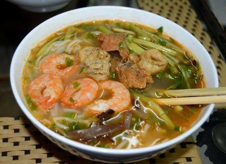 Cach lam mon bun tom Hai Phong thom ngon hap dan - Anh 6