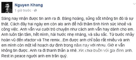 Sao Viet khoc thuong truoc su ra di dot ngot cua nhac si Luong Minh - Anh 10
