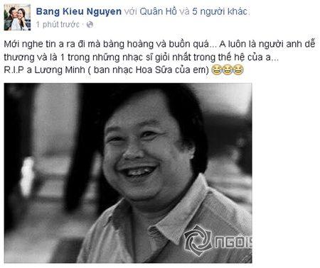 Sao Viet khoc thuong truoc su ra di dot ngot cua nhac si Luong Minh - Anh 5