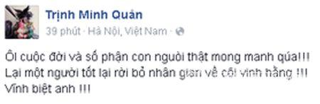 Sao Viet khoc thuong truoc su ra di dot ngot cua nhac si Luong Minh - Anh 6