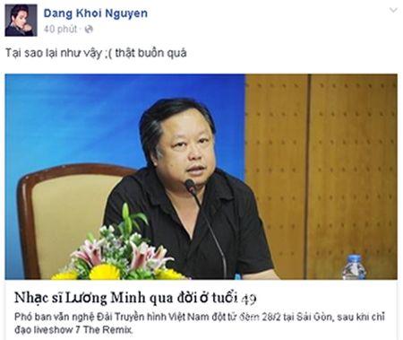 Sao Viet khoc thuong truoc su ra di dot ngot cua nhac si Luong Minh - Anh 8