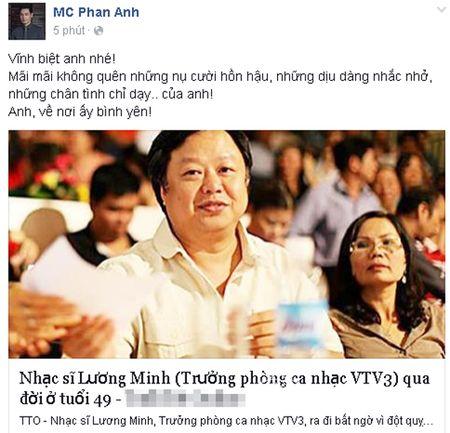 Sao Viet khoc thuong truoc su ra di dot ngot cua nhac si Luong Minh - Anh 9