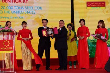 Tap doan Hoa Sen xuat khau 20 nghin tan ton thanh pham sang Hoa Ky - Anh 6