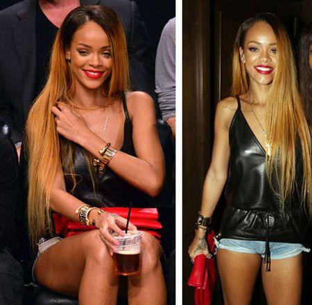 Rihanna tha rong vong mot o NBA - Anh 2
