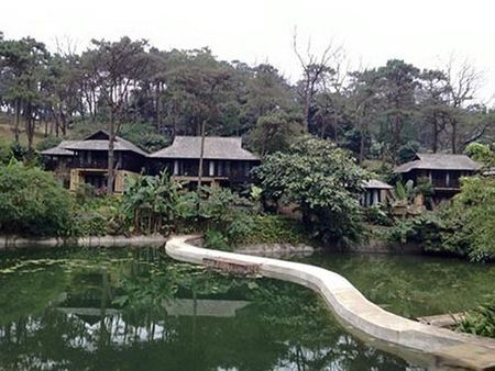 Vu xay resort khong phep giua Vuon Quoc gia Ba Vi: Chu dau tu thua nhan sai sot - Anh 2
