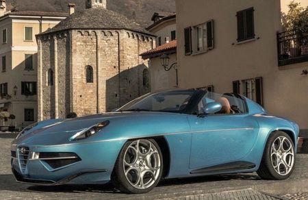 Can canh Alfa Romeo Disco Volante Spider ban gioi han - Anh 1