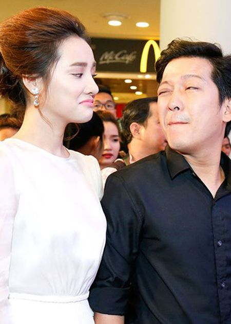 Truong Giang - Nha Phuong quan quyt khong roi tai su kien - Anh 2