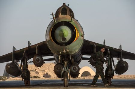 Muc kich Su-22M4 Syria dem bom huy diet lon danh IS - Anh 2