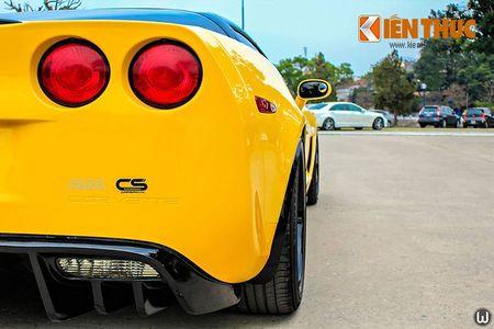 """Sieu xe Chevrolet Corvette C6 """"show hang"""" tai Ha Noi - Anh 10"""