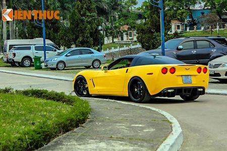 """Sieu xe Chevrolet Corvette C6 """"show hang"""" tai Ha Noi - Anh 12"""
