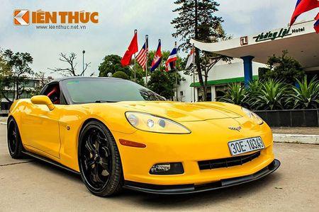 """Sieu xe Chevrolet Corvette C6 """"show hang"""" tai Ha Noi - Anh 13"""