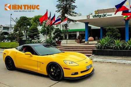 """Sieu xe Chevrolet Corvette C6 """"show hang"""" tai Ha Noi - Anh 1"""