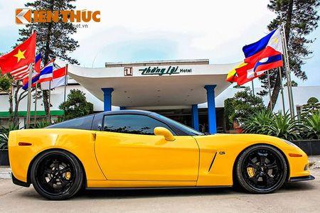 """Sieu xe Chevrolet Corvette C6 """"show hang"""" tai Ha Noi - Anh 2"""