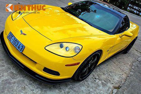 """Sieu xe Chevrolet Corvette C6 """"show hang"""" tai Ha Noi - Anh 3"""
