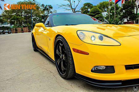 """Sieu xe Chevrolet Corvette C6 """"show hang"""" tai Ha Noi - Anh 5"""