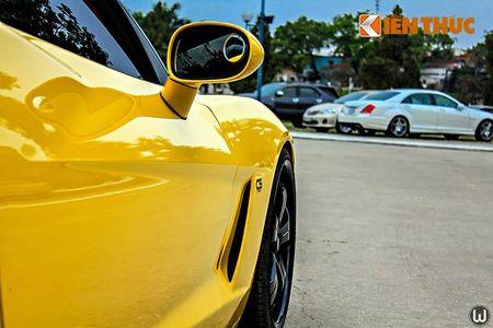 """Sieu xe Chevrolet Corvette C6 """"show hang"""" tai Ha Noi - Anh 6"""