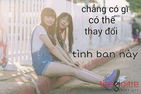 Bo anh tinh ban tuoi dep cua hai nu sinh Binh Phuoc - Anh 1
