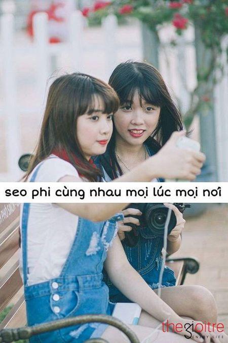 Bo anh tinh ban tuoi dep cua hai nu sinh Binh Phuoc - Anh 3