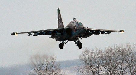Chien dau co Su-25 cua Nga roi, chua ro nguyen nhan - Anh 1