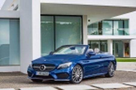 [GMS 2016] Mercedes-Benz ra mat C-Class Cabriolet 2017, 8 lua chon, hop so 9 cap - Anh 4