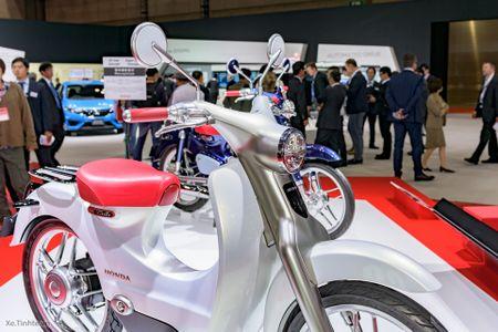 Honda EV-Cub se duoc san xuat tu nam 2018, phan phoi tai Nhat va Dong Nam A - Anh 1