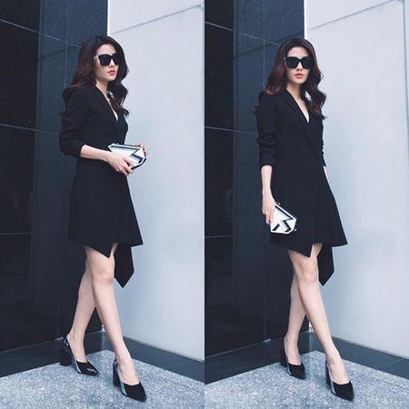 Sao style 1/3: Diem My sang chanh cay den, Yen Nhi xi tin ao mat cuoi - Anh 5