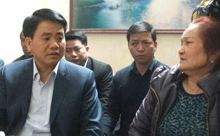 Chu tich Ha Noi tham gia dinh nan nhan vu xe 'dien' dam 3 nguoi chet - Anh 1