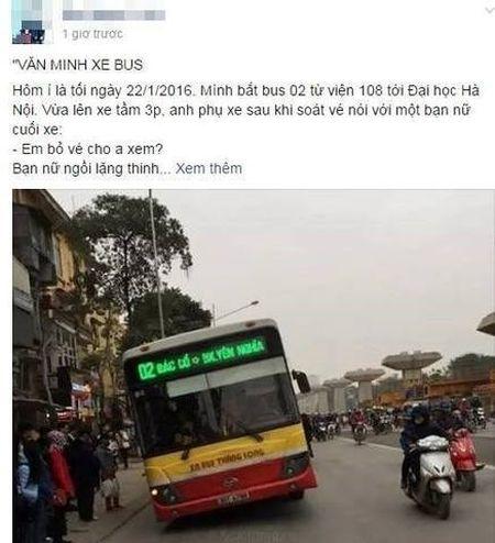 Nu sinh di lau ve xe bus: So tien nho nhung long tham khong nho - Anh 1