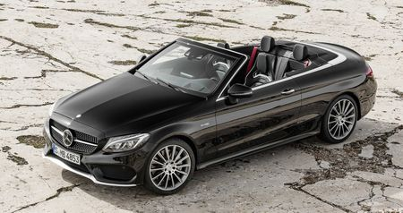 Mercedes-Benz trinh lang C-Class Cabriolet - Anh 8