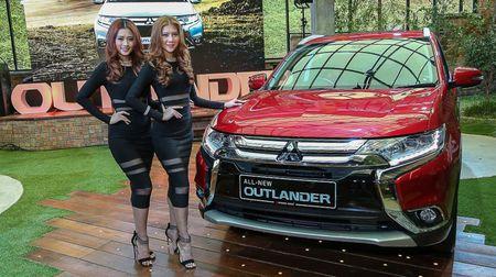 Mitsubishi Outlander 2016 ra mat tai thi truong Dong Nam A - Anh 1
