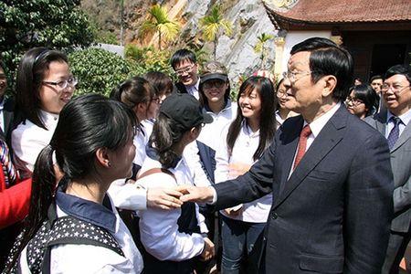 Chu tich nuoc Truong Tan Sang lam viec tai Hai Phong - Anh 1