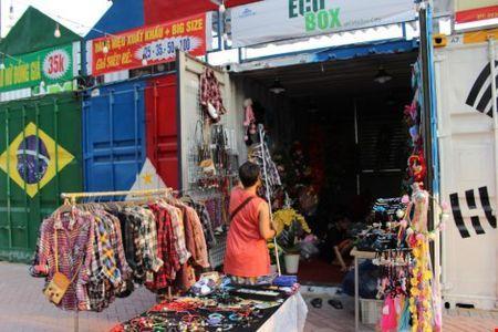 Dao cho lam tu thung container o Sai Gon - Anh 4