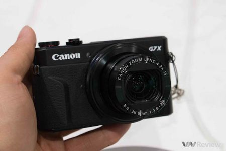 Can canh Canon PowerShot G7 X Mark II - Anh 2