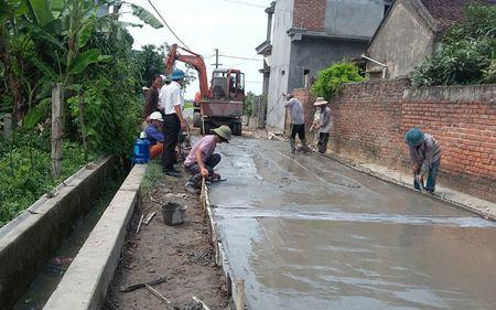Hung Yen ho tro xi mang lam 770km duong giao thong - Anh 1